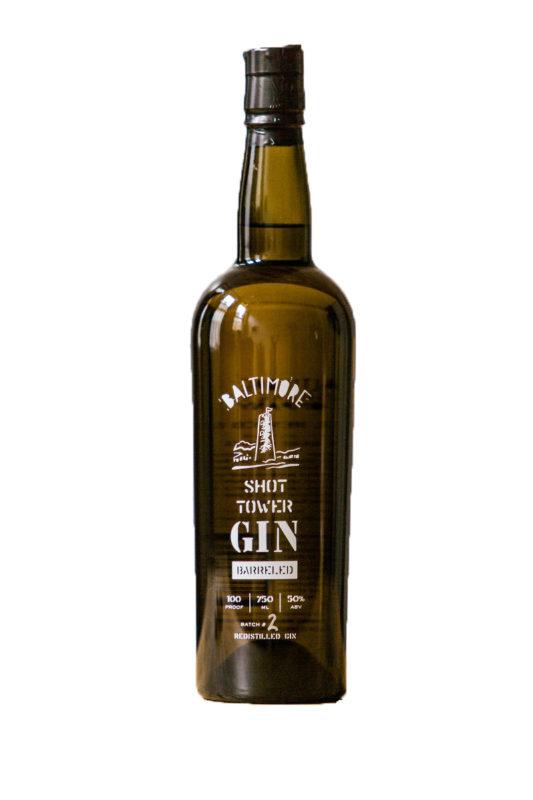 Shot Tower Gin Barreled Prohibition Style