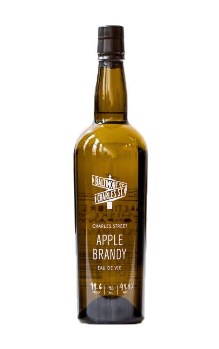 Charles Street Apple Brandy Eau de Vie Review