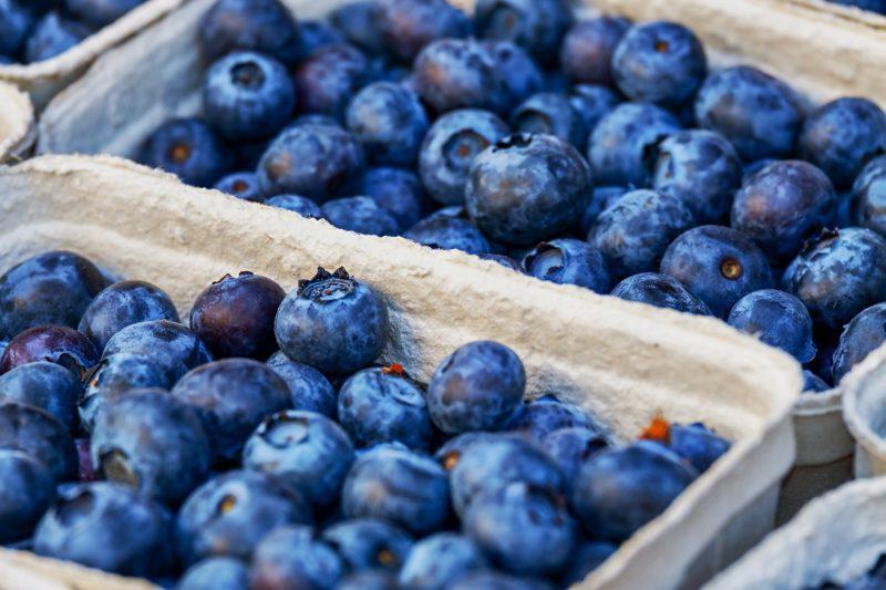 vegan blueberry crisp recipe