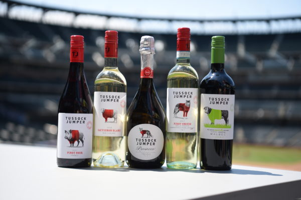Tussock Jumper Wines at Citi Field