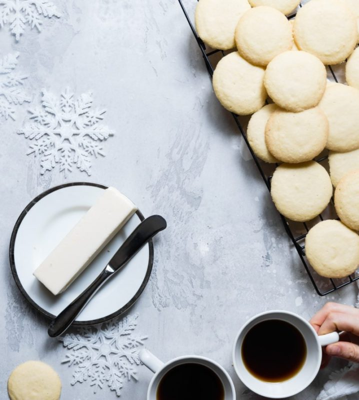 Butter cookies and wine pairing
