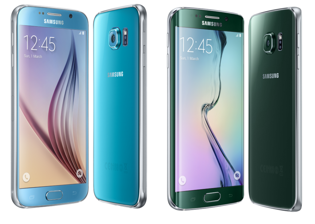 Samsung's Galaxy S6 and S6 edge now in cool Topaz Blue and Green Emerald 9