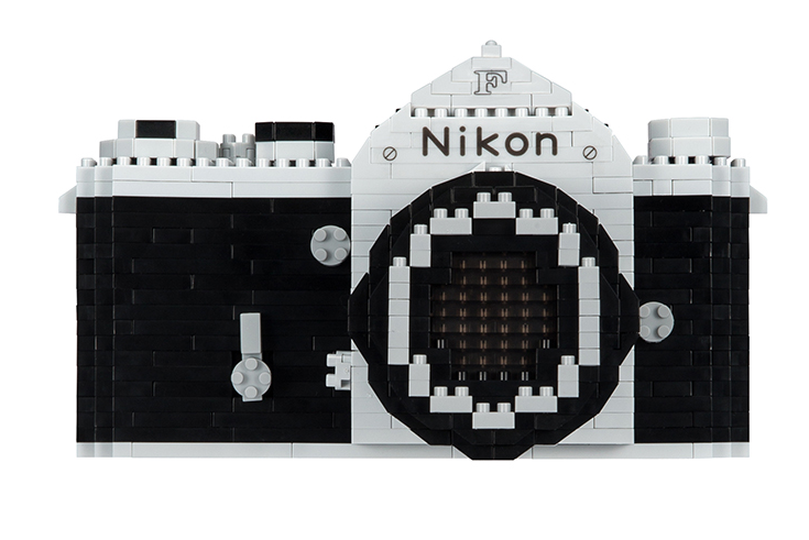 Nikon releases build-your-own vintage F SLR out of Nanoblocks 10