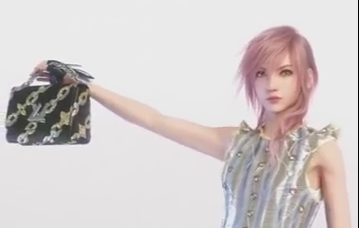 FFXIII's Lightning now modelling for Louis Vuitton 8