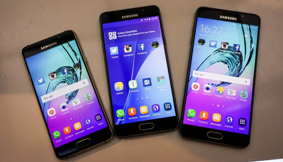 Samsung's selfie-oriented Galaxy A-series phones come with stellar looks and in three sizes 9