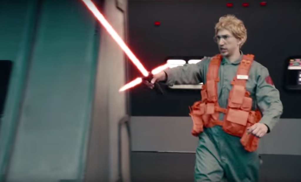 Sith Lord Kylo Ren displays management acumen in Undercover Boss skit on SNL 3