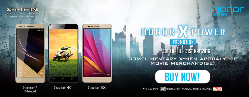Buy an Honor phone and win cool X-men swag 1