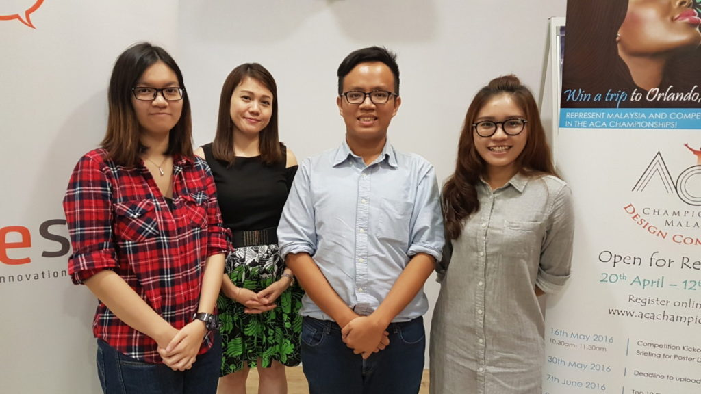 Malaysia's pioneer contestants for Adobe's gruelling ACA World Championships are ready to rock and roll 1