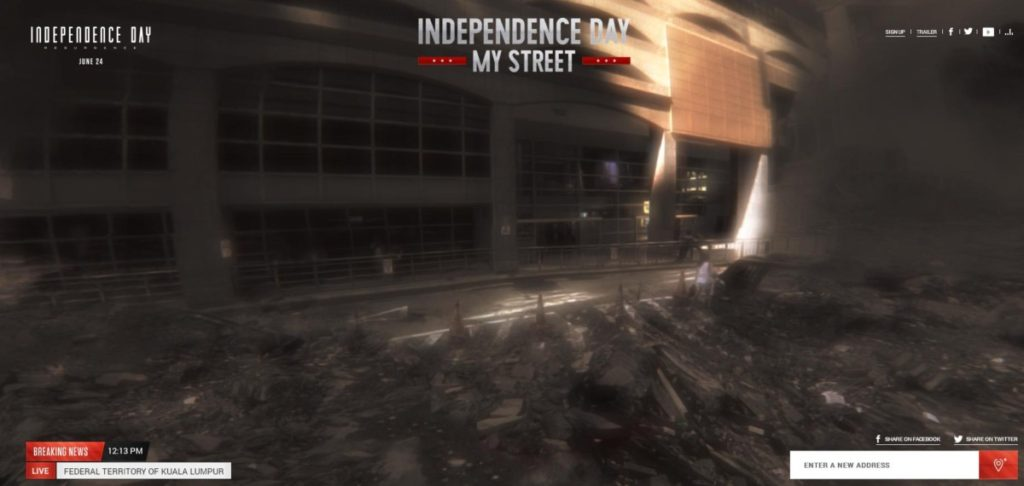 ID: Resurgence website lets you blow up your neighbourhood virtually 16