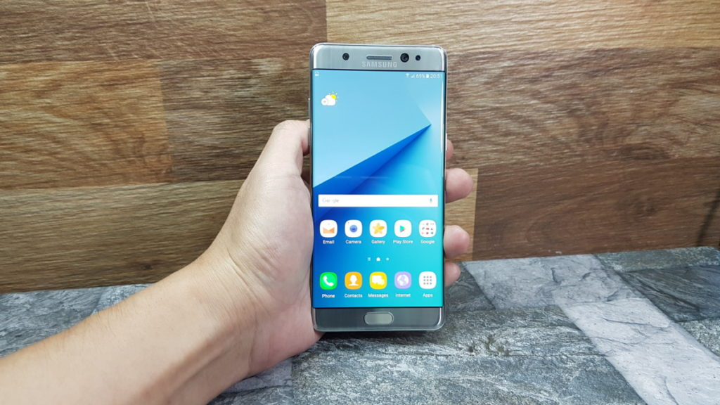 Samsung takes proactive measures with general recall for Galaxy Note7 over alleged battery issues 1