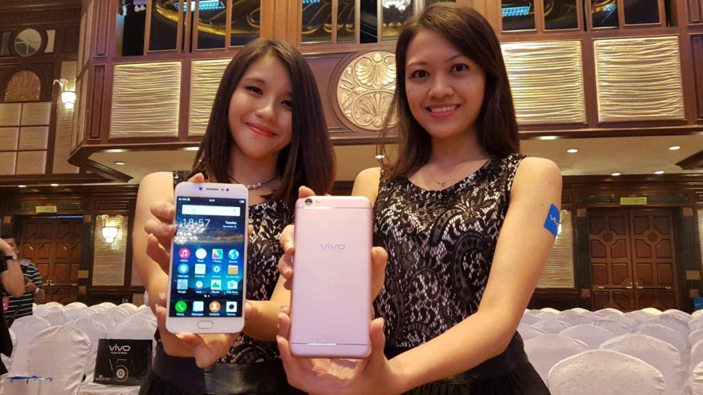 Vivo's V5 phone sports a huge 20-MP selfie cam for RM1299 1