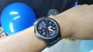 Unboxing the Samsung Gear S3 Frontier 9