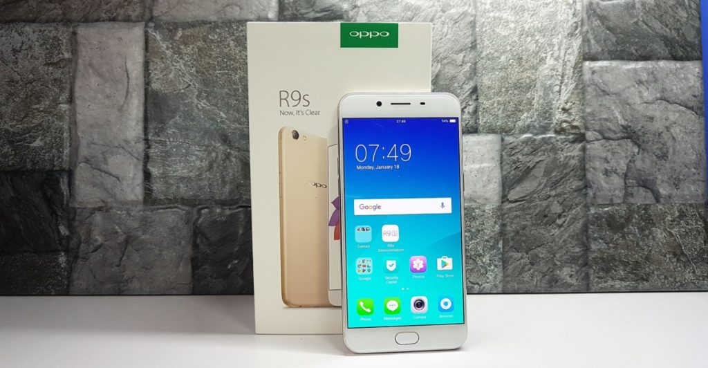 Unboxing the OPPO R9s 1