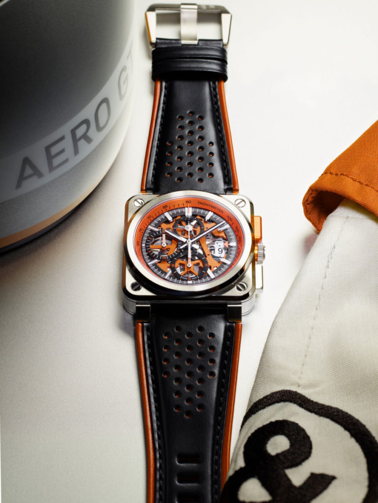 Bell & Ross' limited edition Aero GT Orange chronograph is a real stunner 6