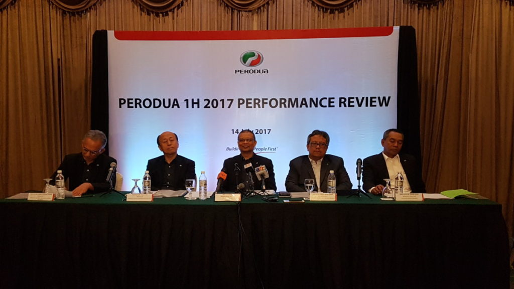 Perodua sells 99,700 vehicles in first half of 2017 and on target to achieve 202,000 vehicles sold this year 18