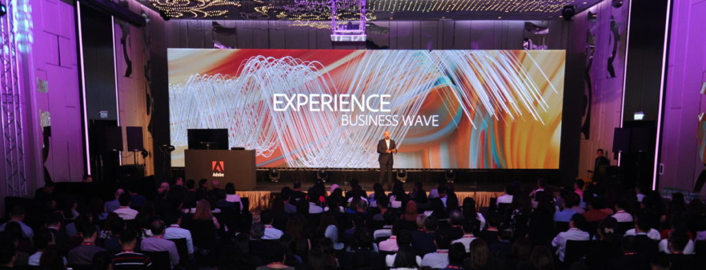 Adobe Experience Forum: Empowering brands to become Experience Businesses 1