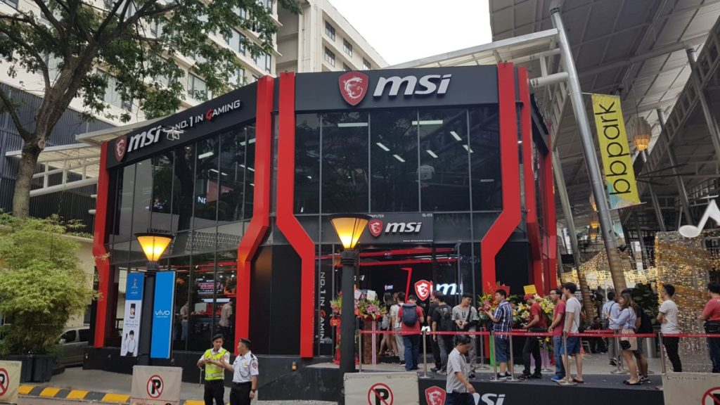 The world's largest MSI store is now open in Malaysia 1