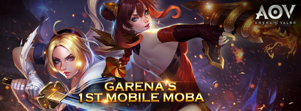 Garena's Arena of Valor MOBA game is coming to Malaysia this October 12