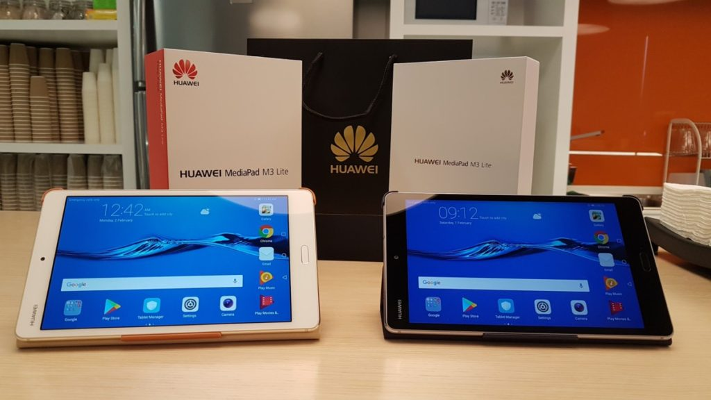 First look at the Huawei MediaPad M3 Lite 23