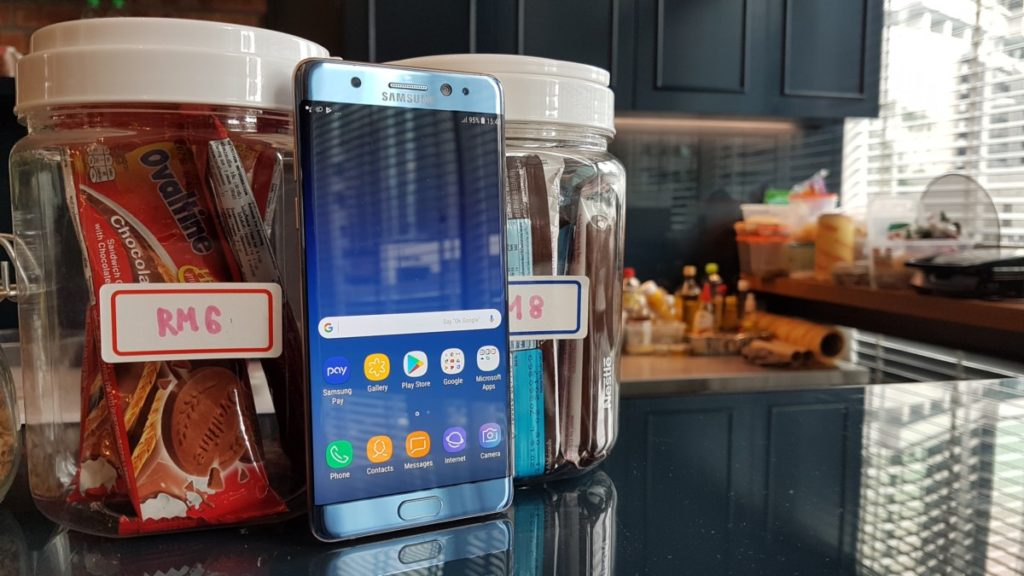 [ Review ] Samsung Galaxy Note Fan Edition 12