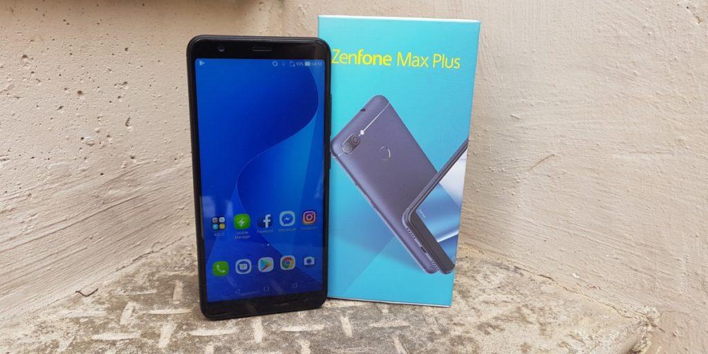The Asus Zenfone Max Plus M1 Unboxed 10