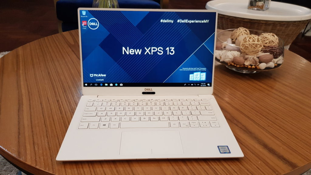 Dell's new XPS 13 from CES 2018 coming to Malaysia this January 2