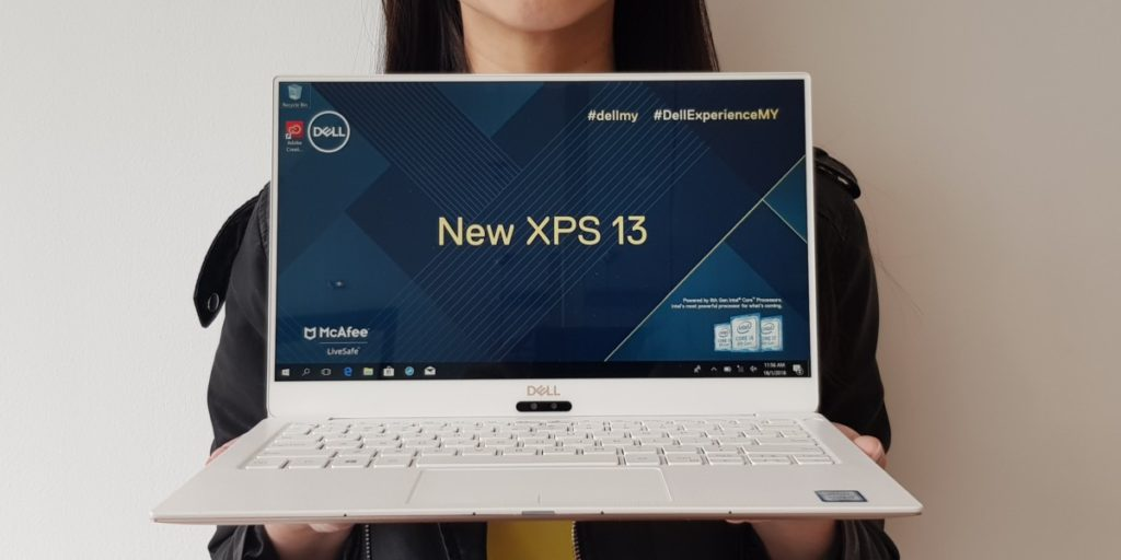 Dell's new XPS 13 from CES 2018 coming to Malaysia this January 1