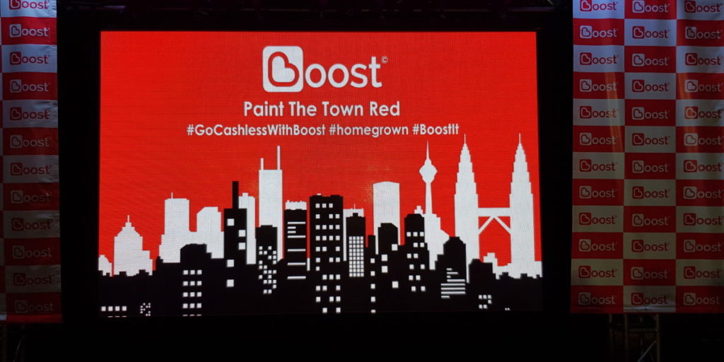 Boost mobile wallet app aims to paint the town red 3