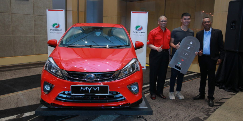 Perodua delivers their 18,000th Myvi for Chinese New Year 12