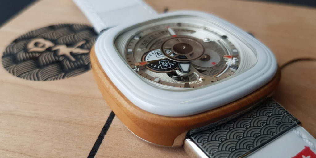 You definitely wood want this SEVENFRIDAY Japan P1B/03 timepiece on your wrist 21