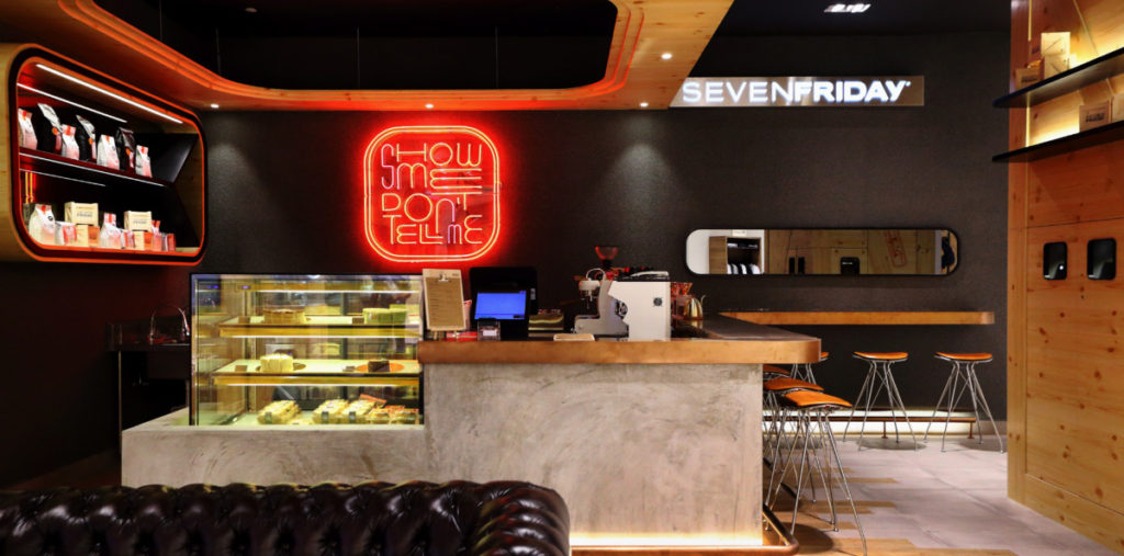 Timepieces and coffee meet at the new SevenFriday Space 15