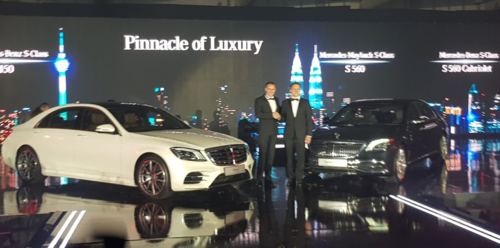 Mercedes redefines luxury and performance with new S-class line-up 1