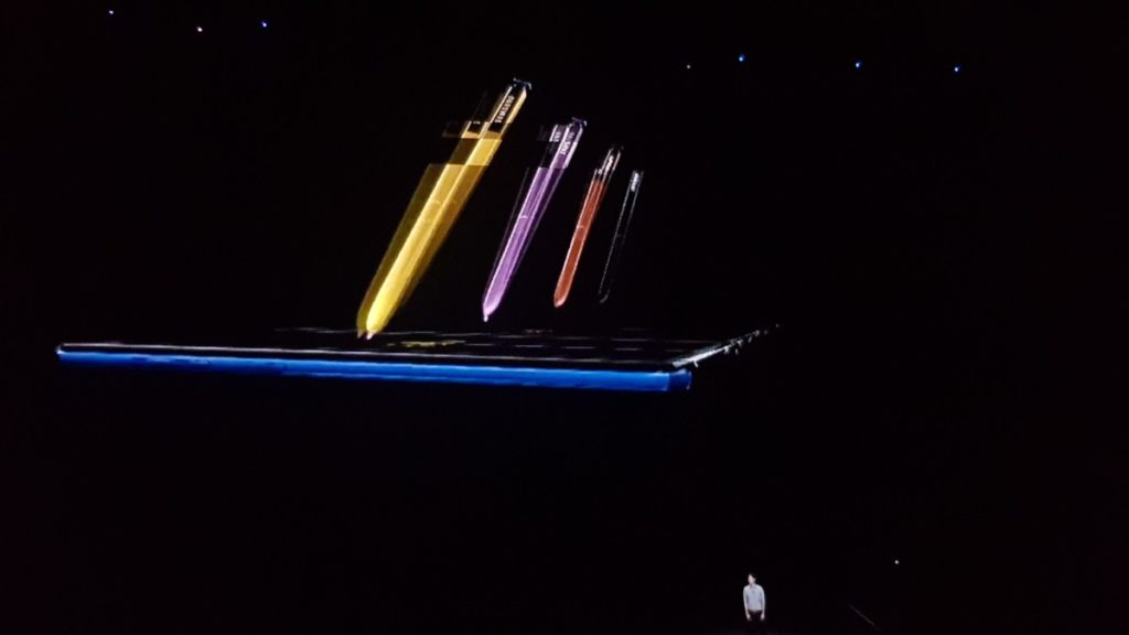 Samsung's super powerful Galaxy Note9 makes global debut at Unpacked 2018 5