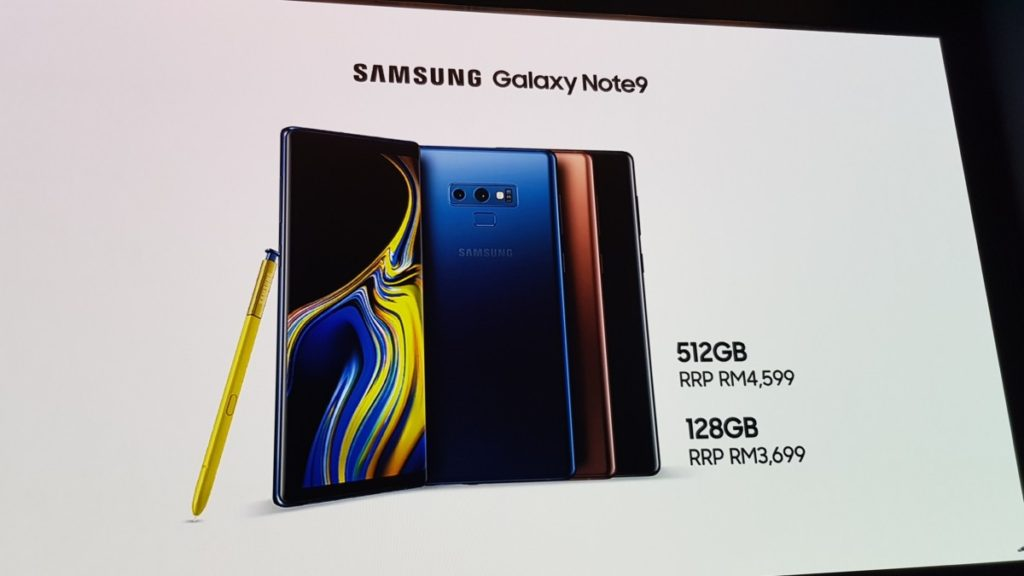 Samsung's super powerful Galaxy Note9 makes global debut at Unpacked 2018 18