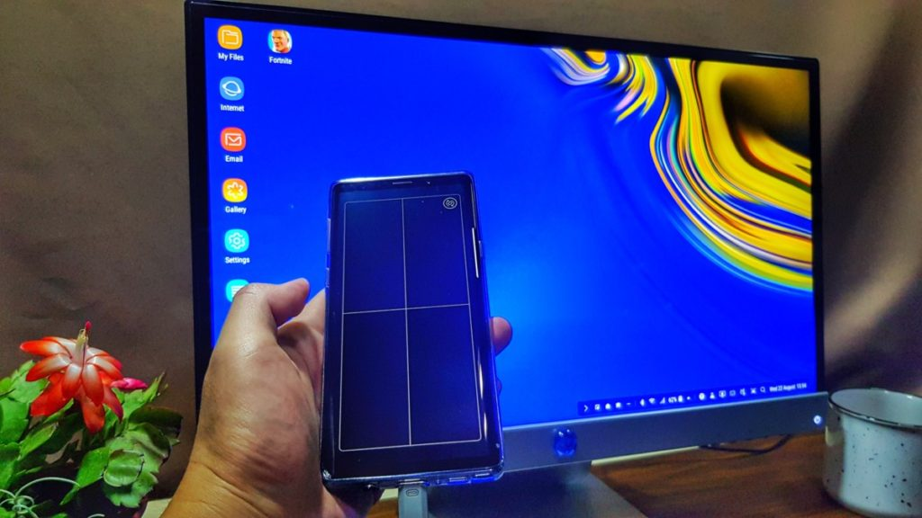 DeX mode with Note9 as touchpad Hitech Century