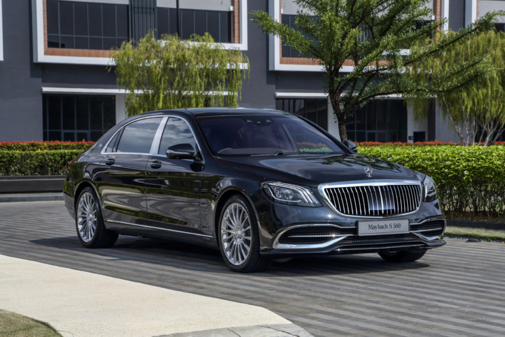 Mercedes redefines luxury and performance with new S-class line-up 11