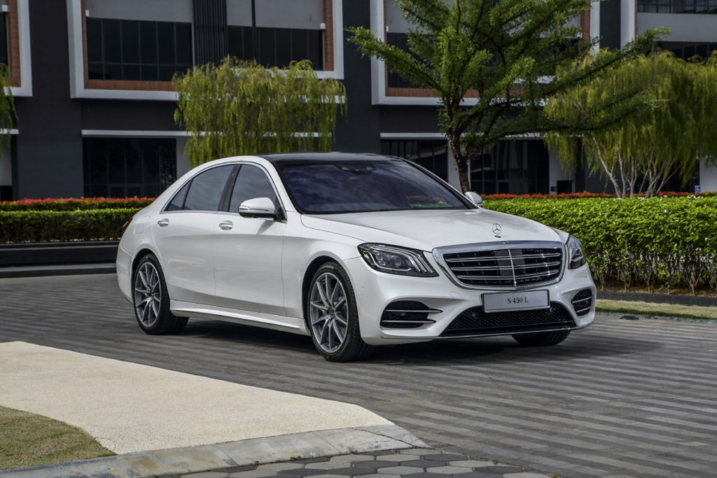 Mercedes redefines luxury and performance with new S-class line-up 2