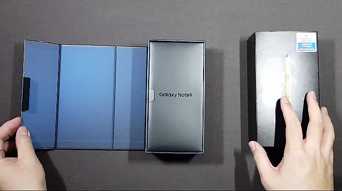 Unboxing Samsung's Galaxy Note9 - What's in the Box? 3