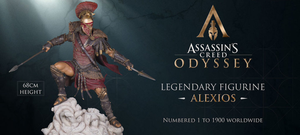 Gaze upon this sweet looking limited edition Alexious figure for Assassin's Creed Odyssey 6