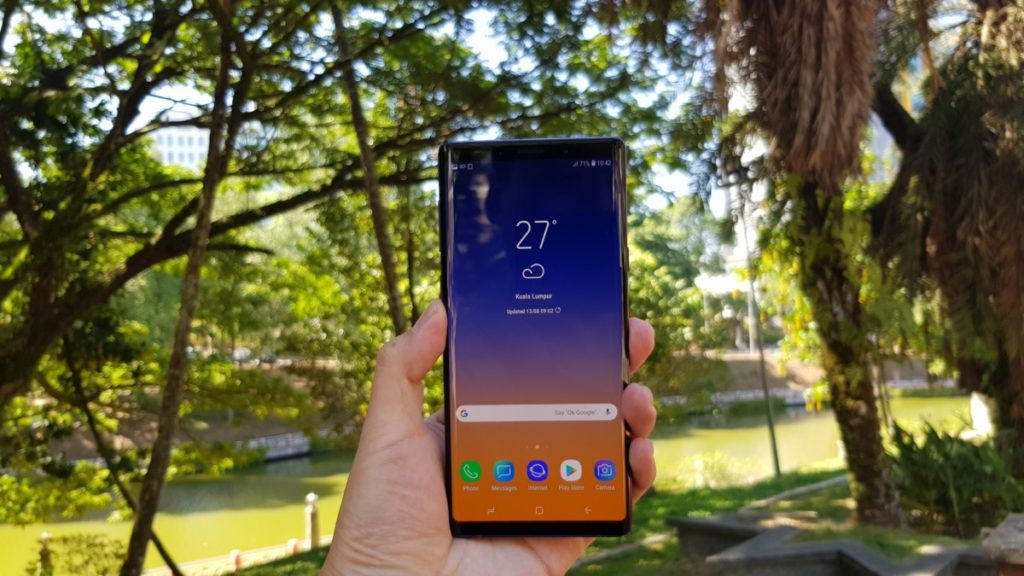 Samsung Galaxy Note9 review - Redefining Excellence 5