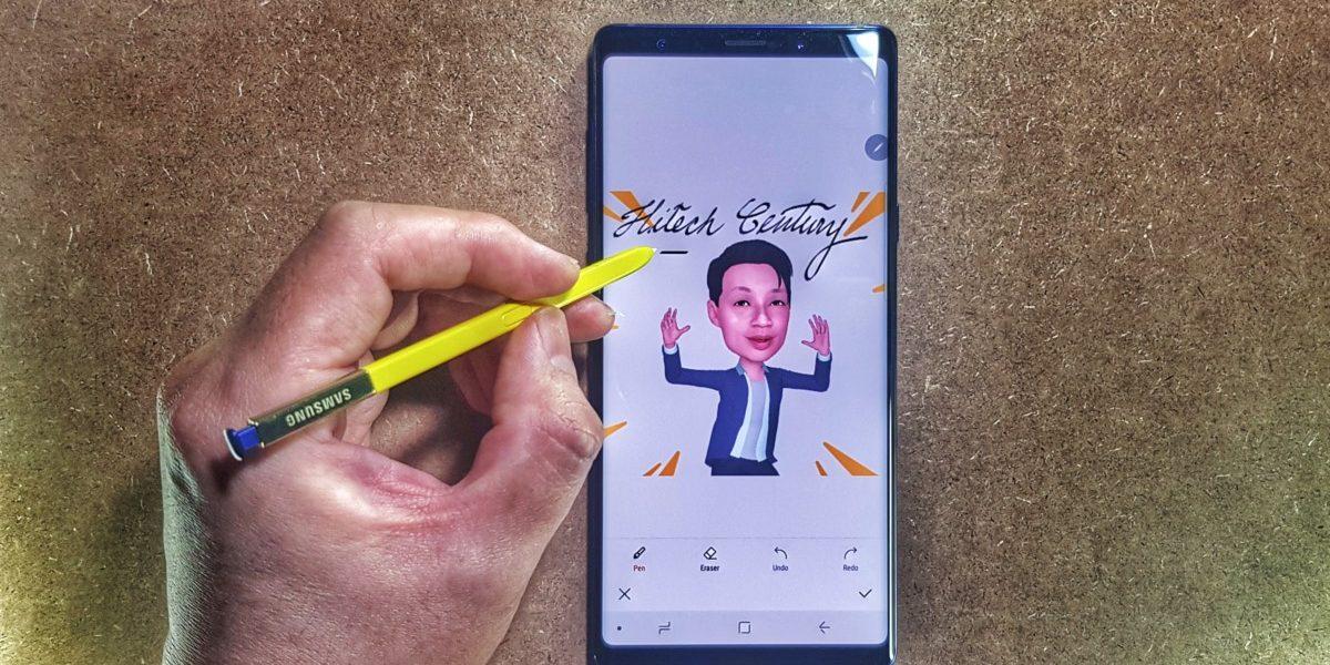 Galaxy Note9 AR emoji mode-02
