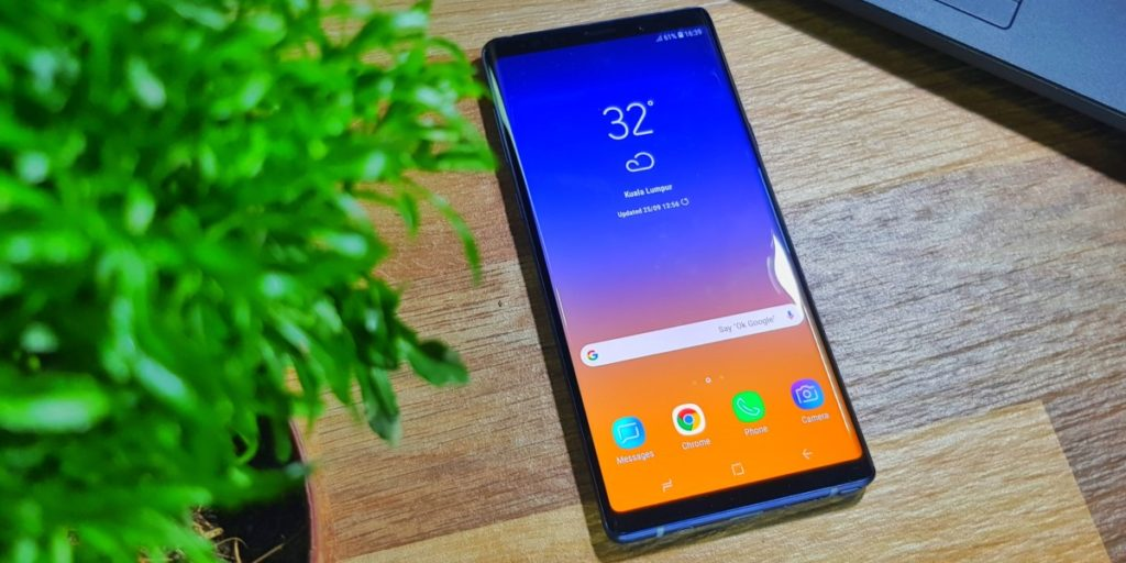Samsung is offering an RM400 rebate off the Galaxy Note9 just in time for the New Year 3