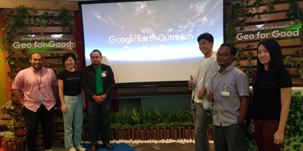 NGOs share stories of positive change with Google Earth Outreach programme 1