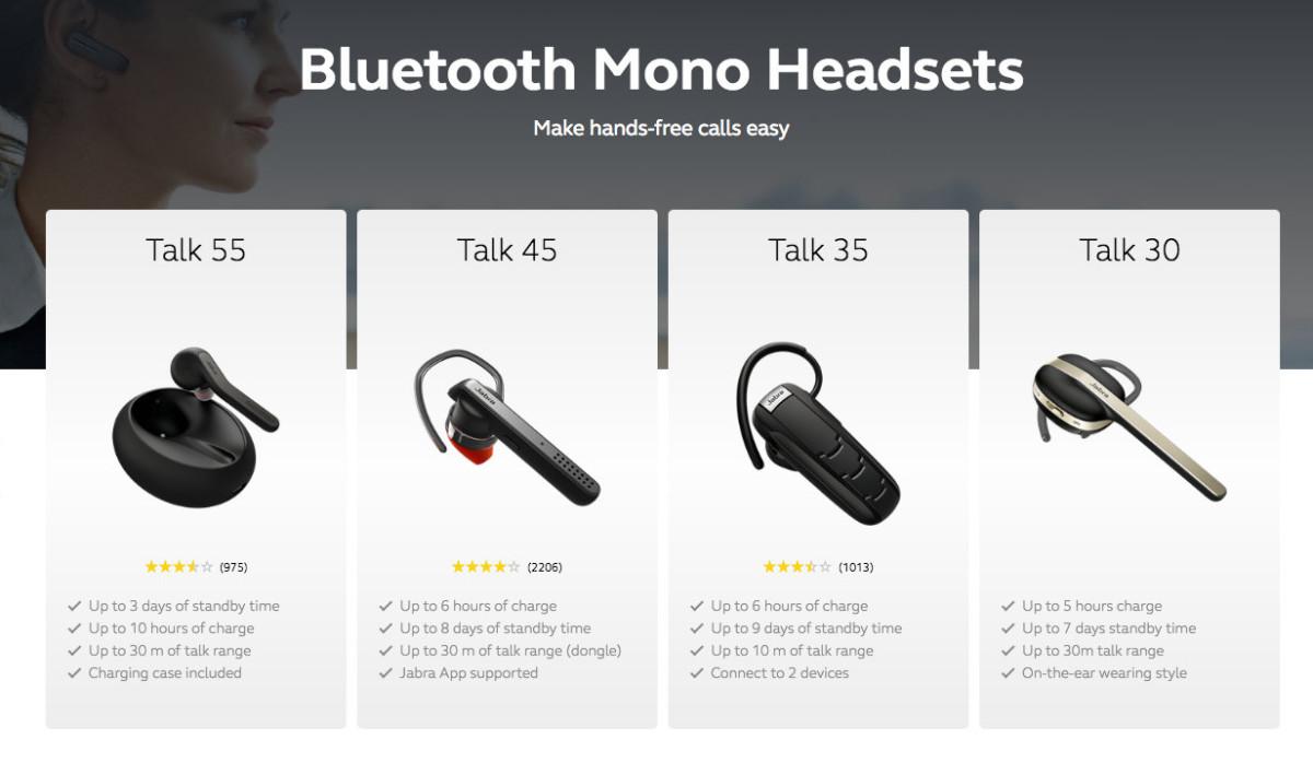Jabra rolls out their The Talk mono headset range 2