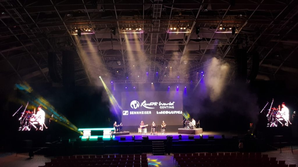 L-Acoustics K2 sound system brings the music to Genting Arena of Stars 9
