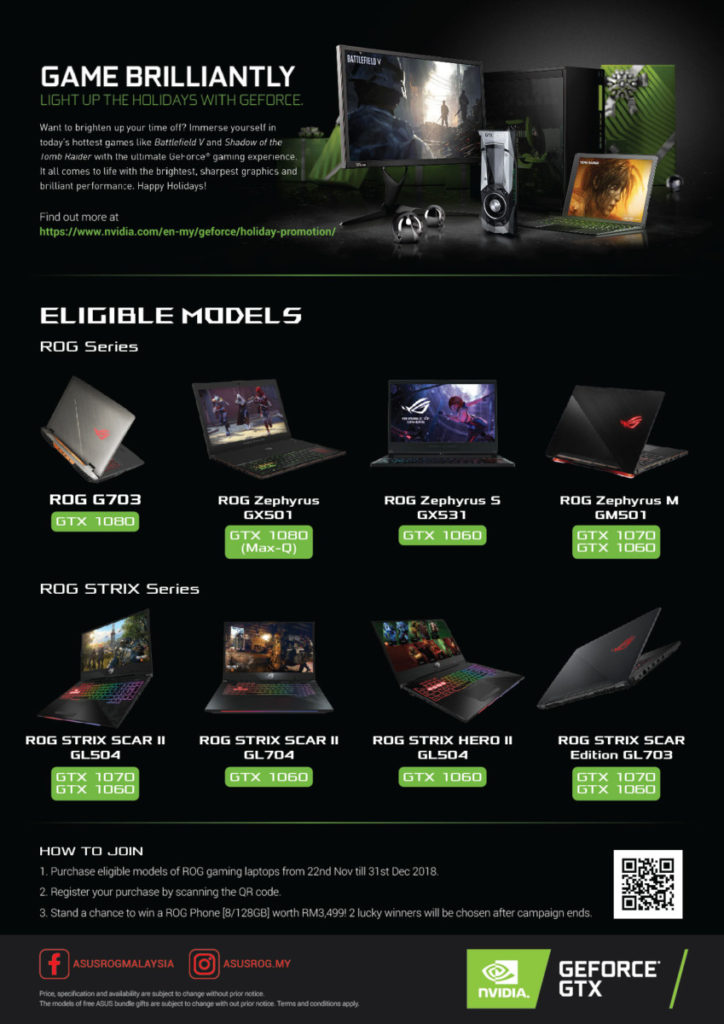 Asus rolls out Gaming Holiday Promotion with chance to win a ROG Phone 3