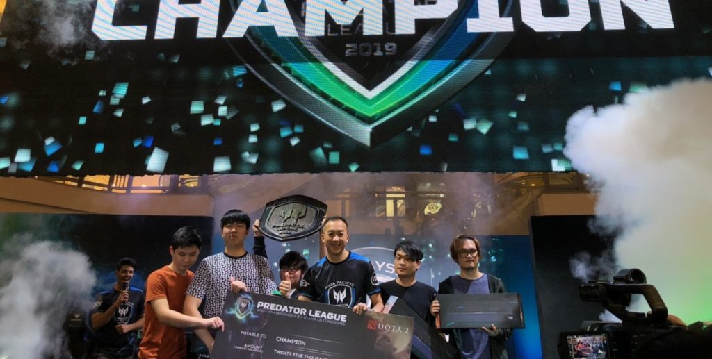 Teams Lotac and Asbol feted as DOTA 2 and PUBG Malaysia Champions in Asia Pacific Predator League 2019 7