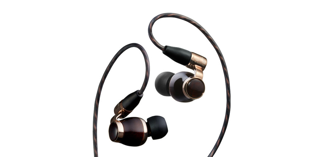 Gaze upon the exquisitely crafted and wood hewn JVC HA-FW10000 in-ear headphones 2