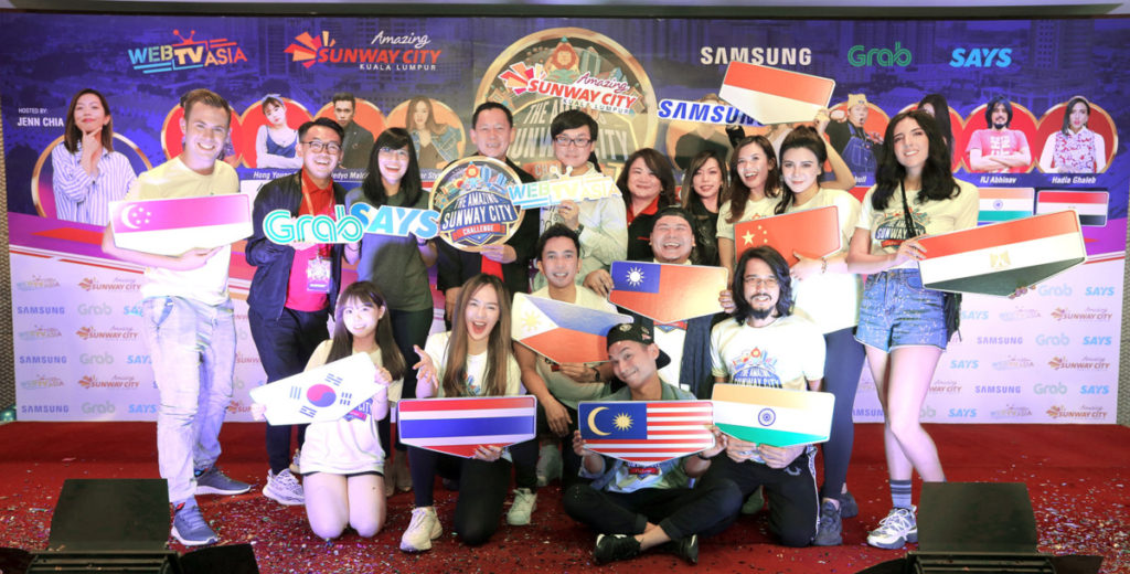 Samsung teams up with Sunway for Amazing Sunway CIty Challenge reality game show 6