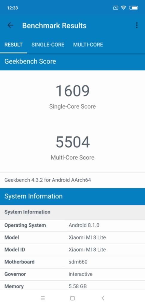 [Review] Xiaomi Mi 8 Lite 8